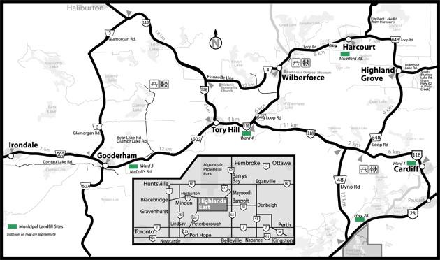Haliburton and Highlands East